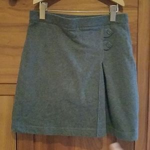 Lands End girls gray skirt size 10